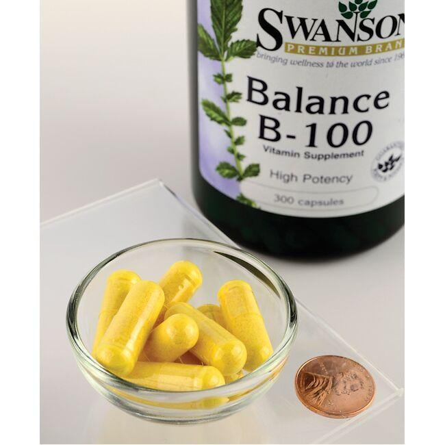 Swanson PremiumBalance B-100 Complex - High Potency Close Up