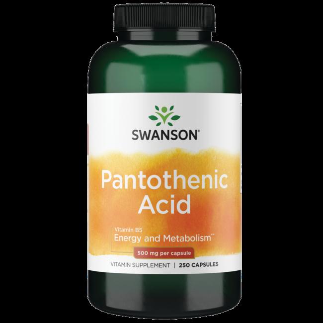 Swanson PremiumPantothenic Acid (Vitamin B-5)