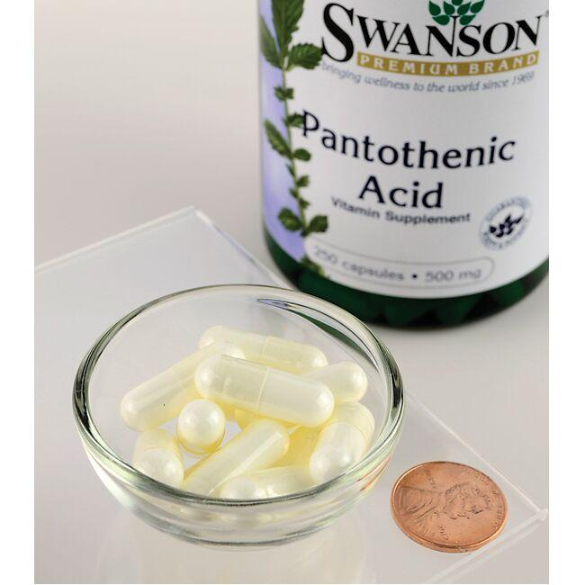 Swanson Premium Pantothenic Acid Close Up
