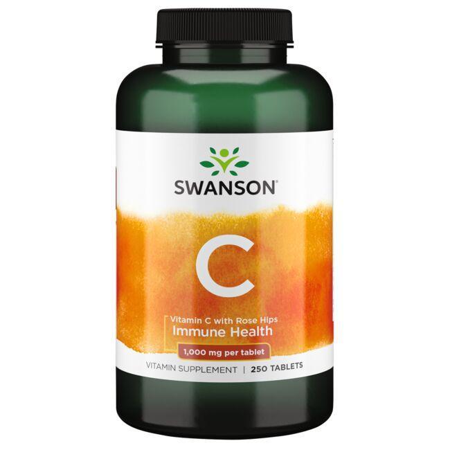 Swanson PremiumVitamin C with Rose Hips
