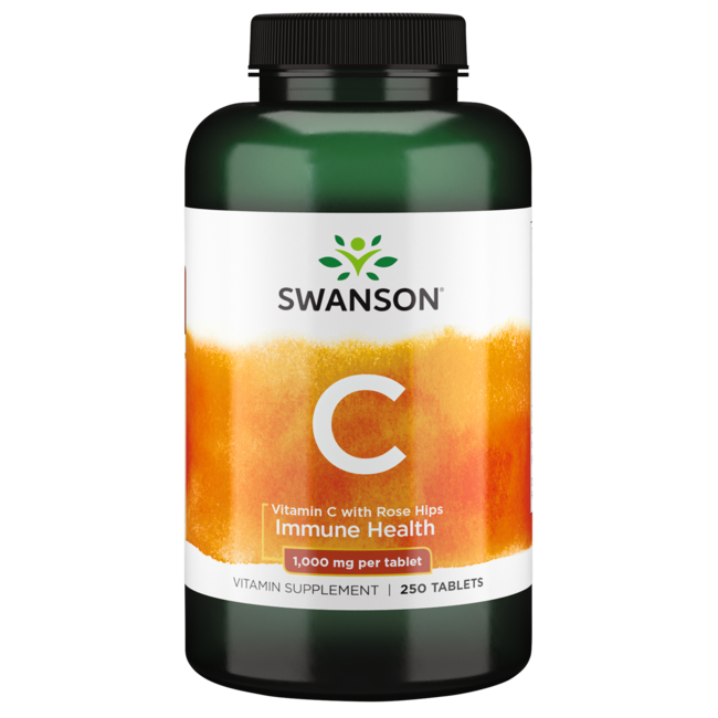 Swanson PremiumVitamin C with Rose Hips