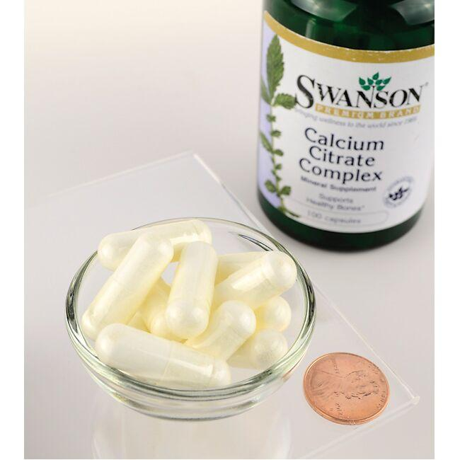 Swanson Premium Calcium Citrate Complex Close Up