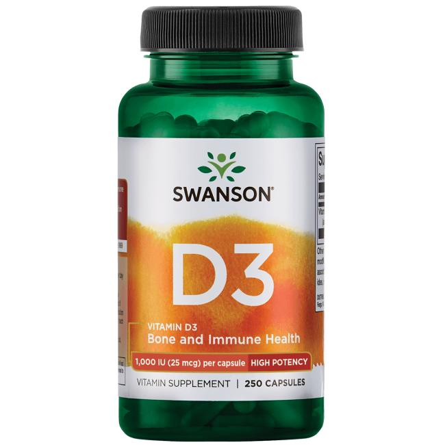 Swanson Premium Vitamin D3 - High Potency