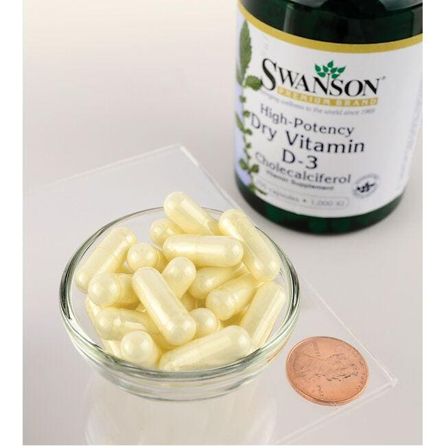 Swanson PremiumVitamin D3 - High Potency Close Up