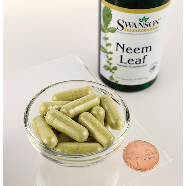 Swanson Premium Neem Leaf Close Up