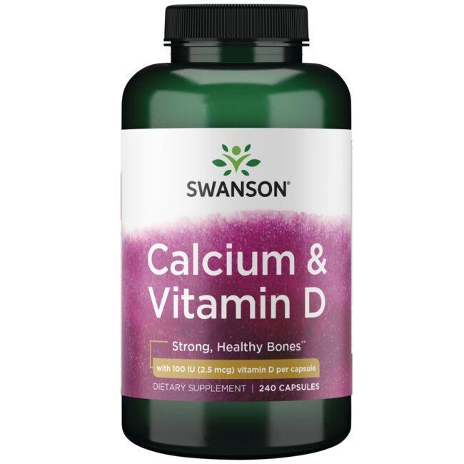 Swanson PremiumCalcium Citrate Complex with Vitamin D