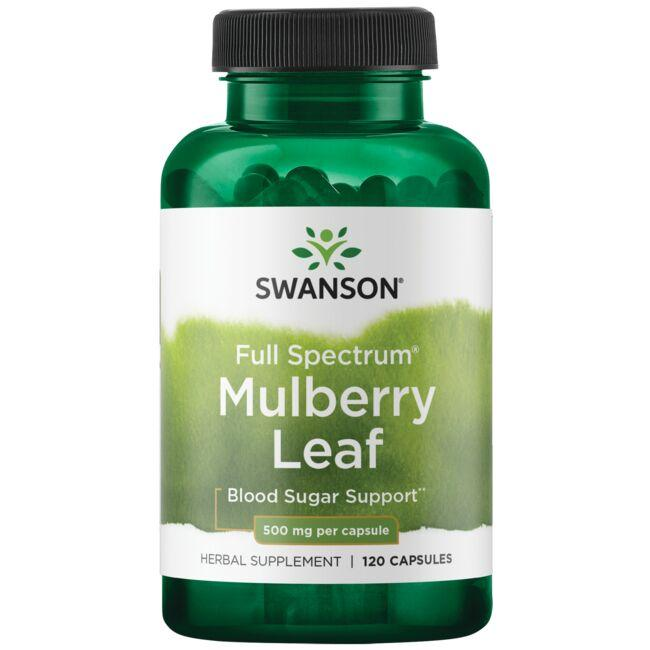 Swanson Premium Full Spectrum Mulberry Leaf