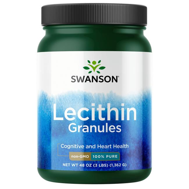 Swanson Premium100% Pure Lecithin Granules (Non-GMO)