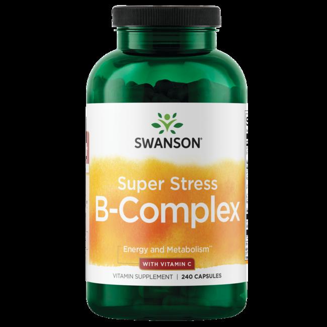 Swanson Premium Super Stress Vitamin B-Complex with Vitamin C