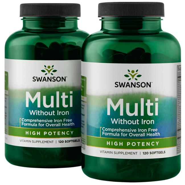 Swanson Premium Multi without Iron - High Potency