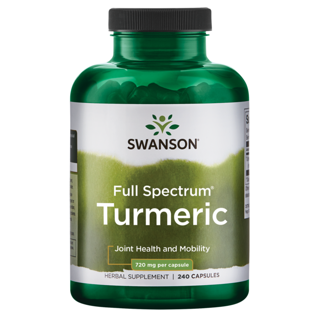 Turmeric supplement