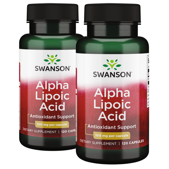 Swanson Premium Alpha Lipoic Acid