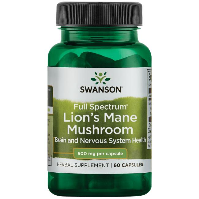 Swanson PremiumLion's Mane Mushroom