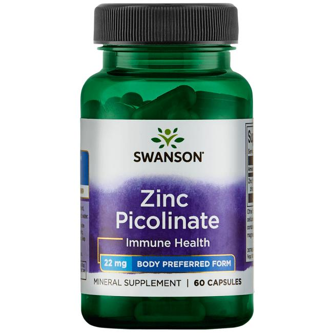 Swanson PremiumZinc Picolinate Body Preferred Form
