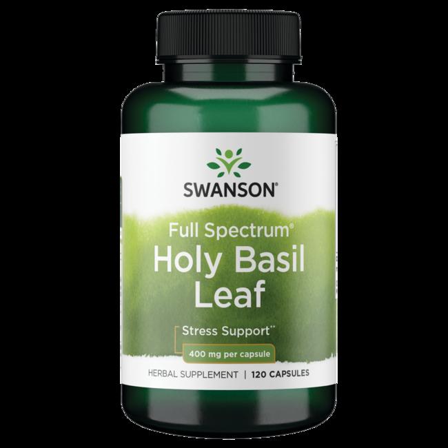 Swanson PremiumFull Spectrum Holy Basil Leaf (Tulsi)