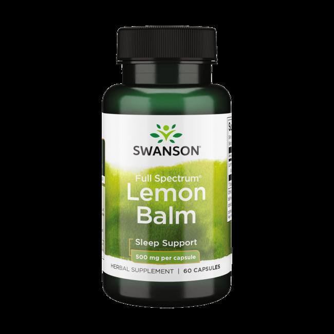 Swanson PremiumFull Spectrum Lemon Balm