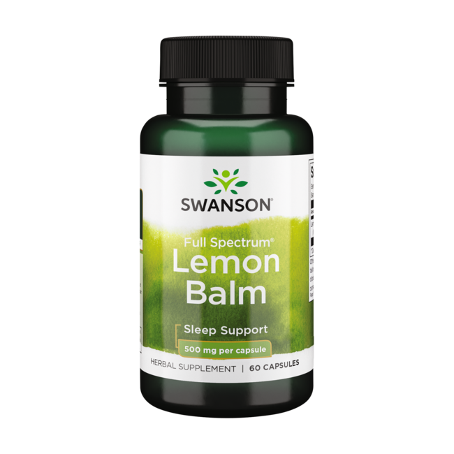 Swanson Premium Full Spectrum Lemon Balm