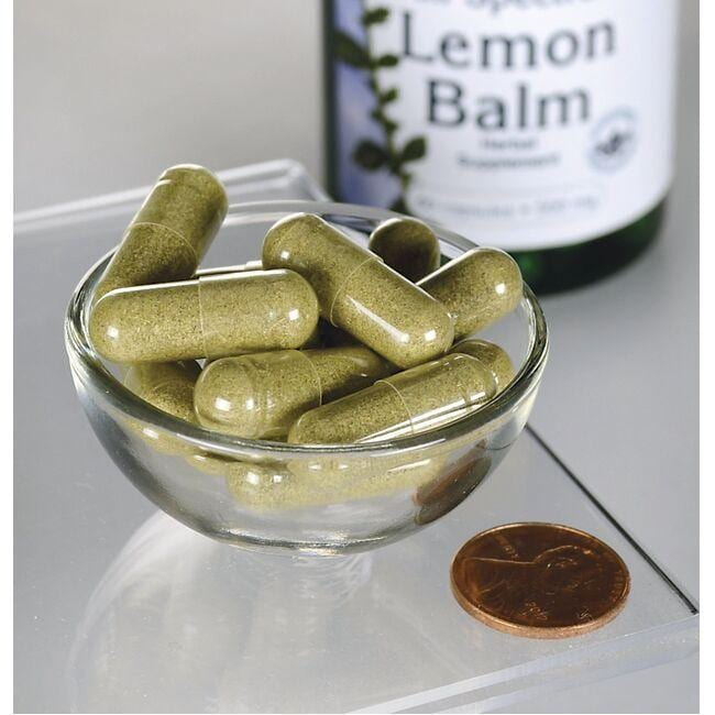 Swanson PremiumLemon Balm Close Up