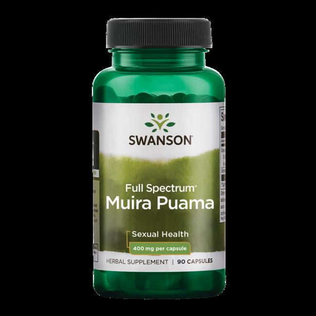 Swanson PremiumFull-Spectrum Muira Puama Root
