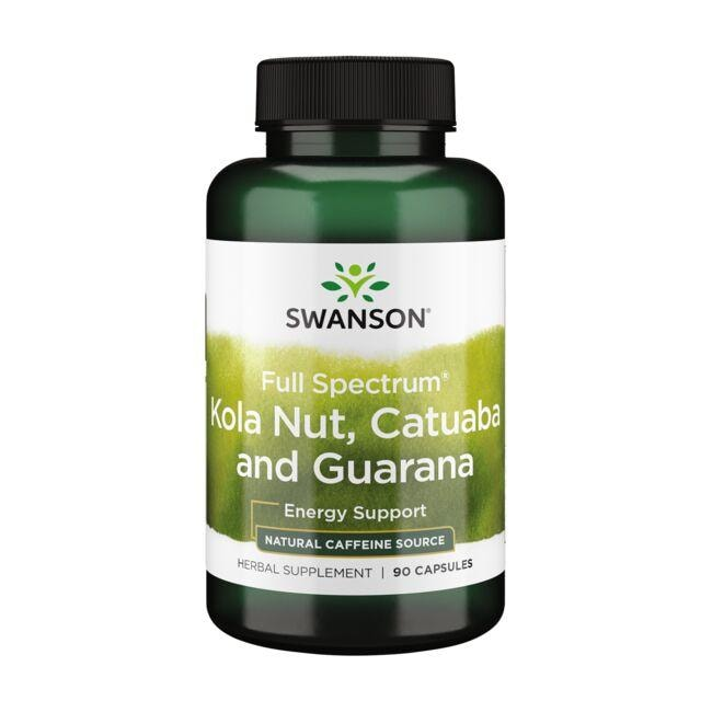 Swanson PremiumFull-Spectrum Kola Nut, Catuaba, Guarana
