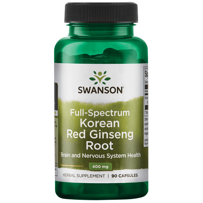 Swanson PremiumFull-Spectrum Korean Red Ginseng Root