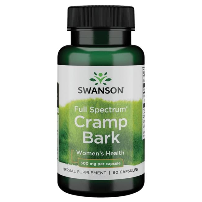 Swanson Premium Full Spectrum Cramp Bark