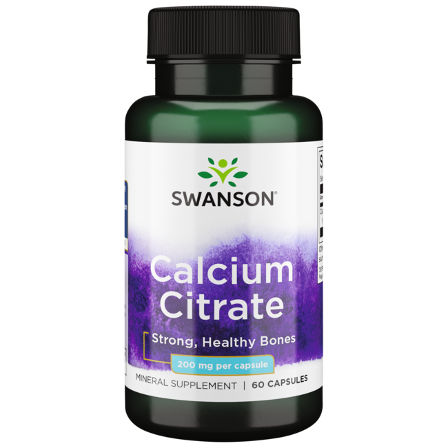Swanson Premium Calcium Citrate