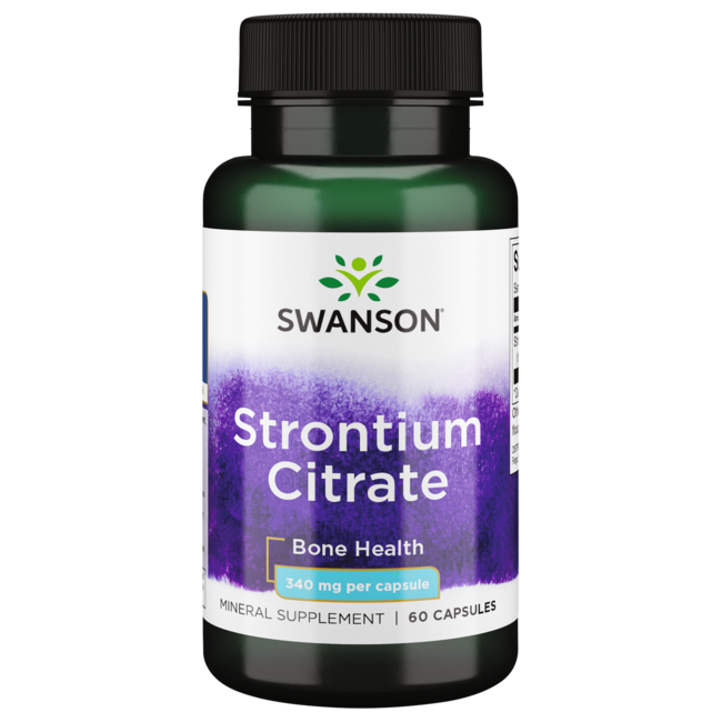 Swanson PremiumStrontium Citrate