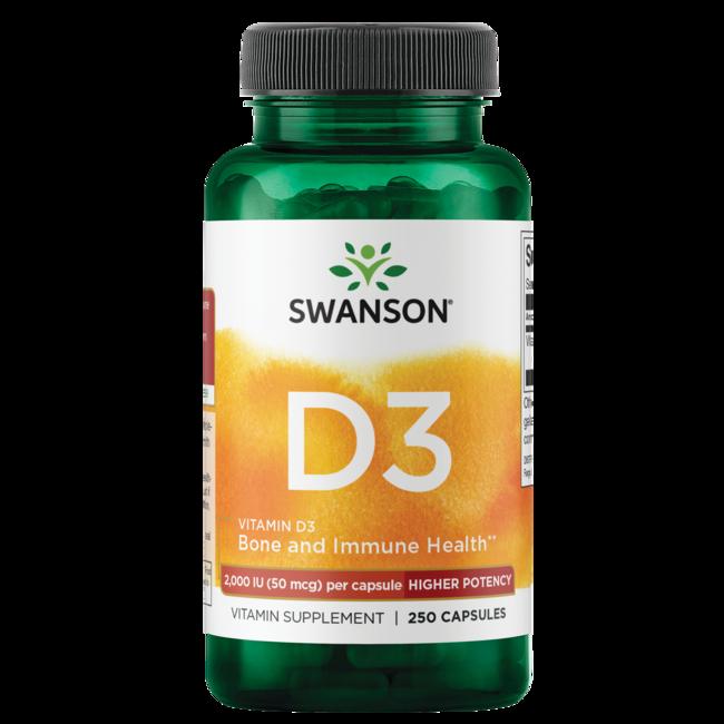Swanson PremiumHigher Potency Vitamin D-3