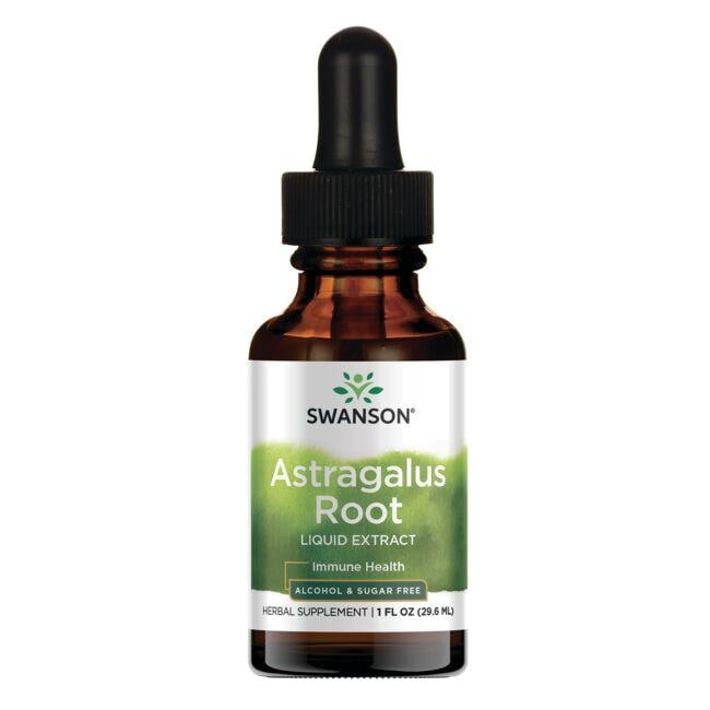 Swanson PremiumAstragalus Root Liquid Extract (Alcohol and Sugar-Free)