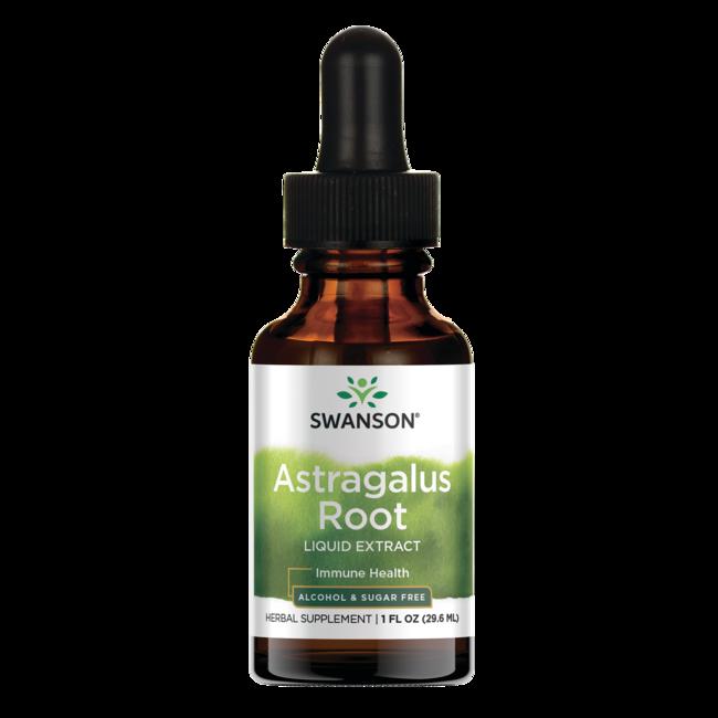 Swanson Premium Astragalus Root Liquid Extract (Alcohol and Sugar-Free)