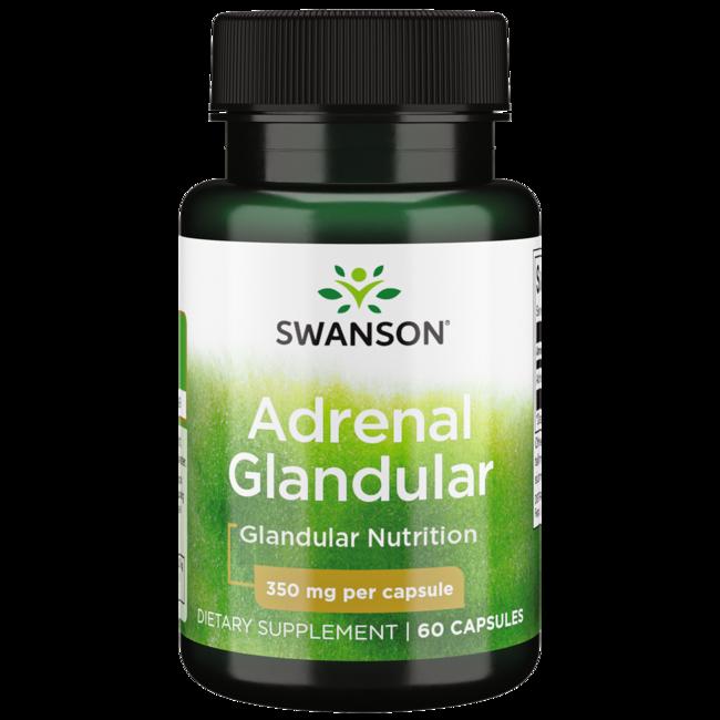 Raw adrenal supplement