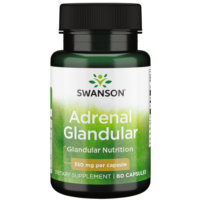 Swanson Premium Raw Adrenal Glandular