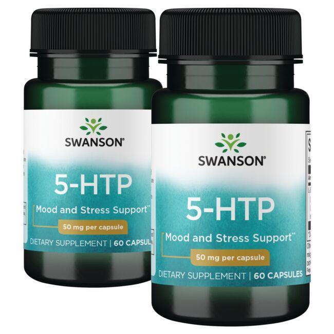 Swanson Premium5-HTP - 2 Pack