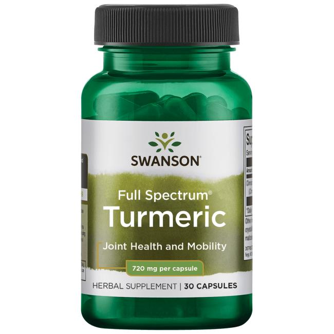 Swanson PremiumFull Spectrum Turmeric
