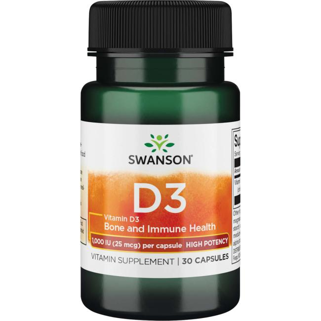 Swanson PremiumVitamin D3 - High Potency