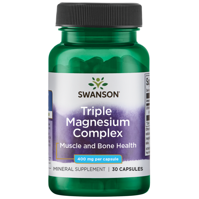 Swanson Premium Triple Magnesium Complex