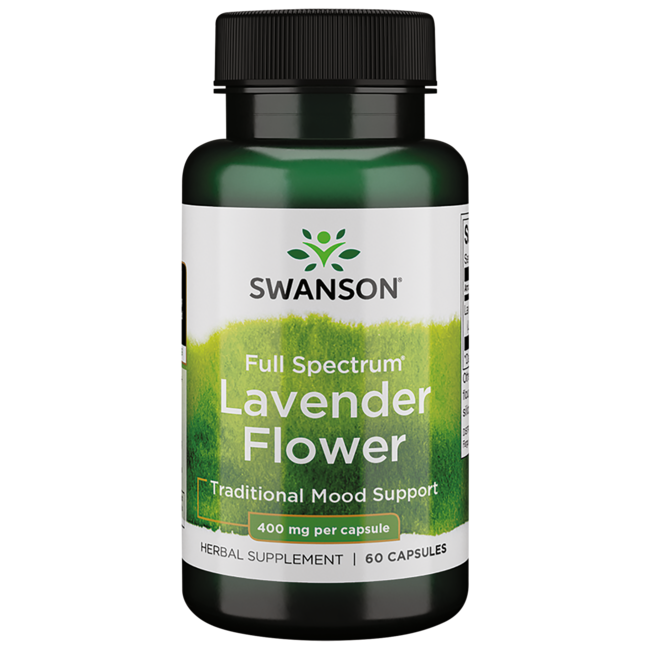 Swanson PremiumFull Spectrum Lavender Flower