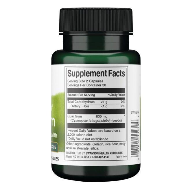 Swanson PremiumFull Spectrum Guar Gum Close Up