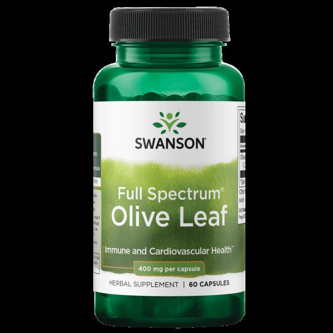 Swanson PremiumFull Spectrum Olive Leaf