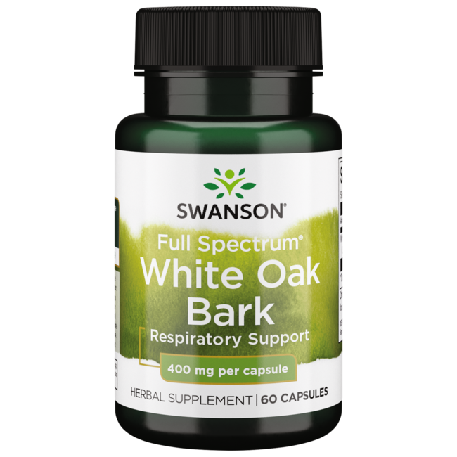 Swanson PremiumFull Spectrum White Oak Bark