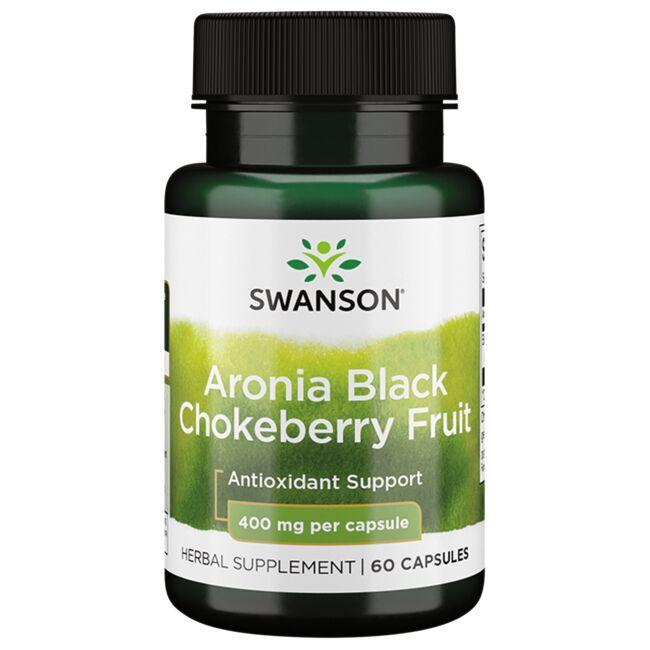 Swanson Premium Aronia Black Chokeberry Fruit