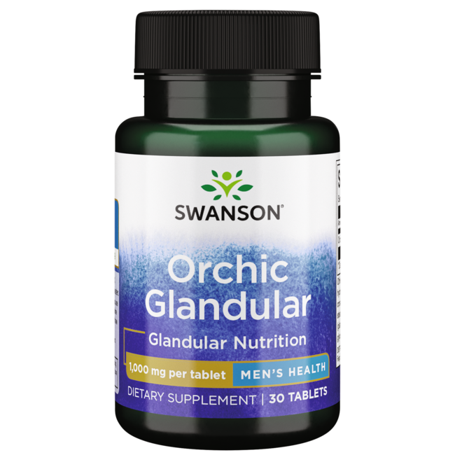 Swanson PremiumRaw Orchic Glandular
