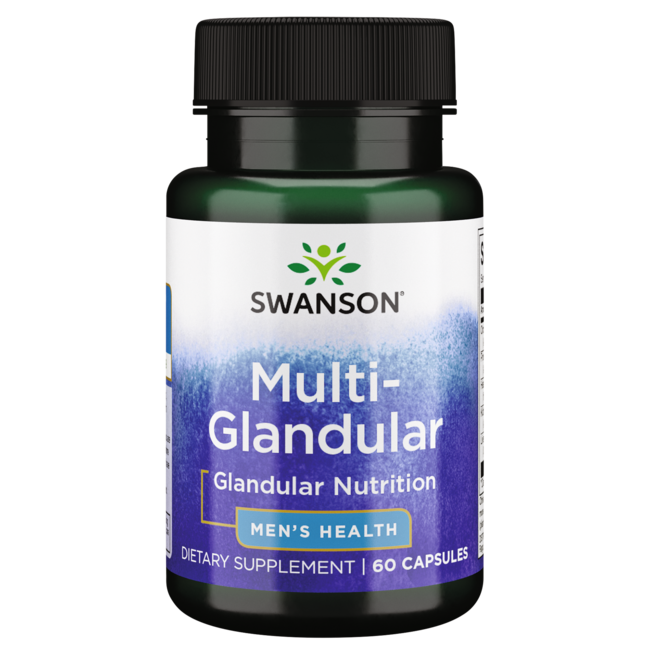 Swanson Premium Raw Multi-Glandular For Men