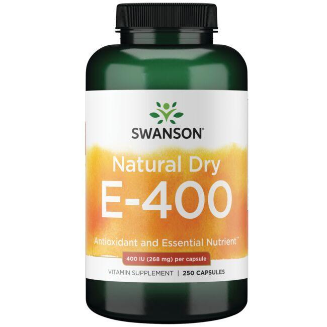 Swanson PremiumVitamin E - Natural Dry