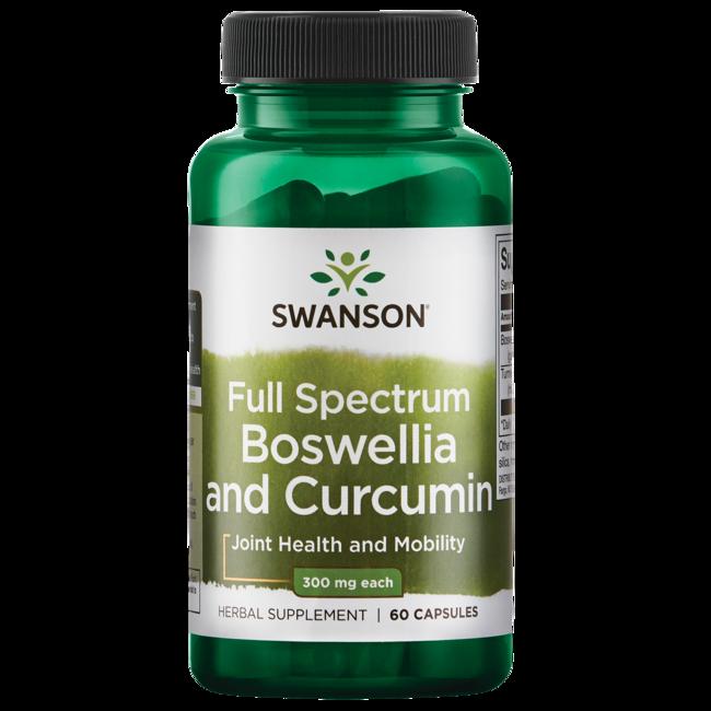 Swanson Premium Full Spectrum Boswellia and Curcumin