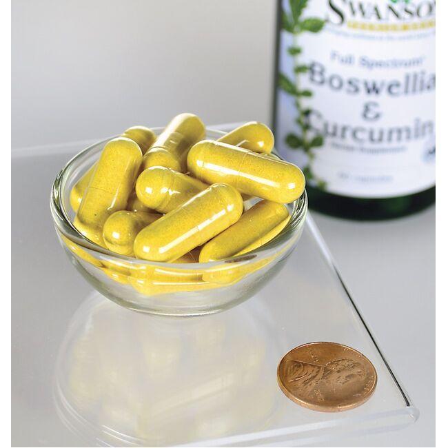 Swanson PremiumFull Spectrum Boswellia and Curcumin Close Up