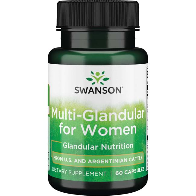 Swanson PremiumMulti-Glandular For Women