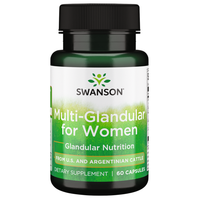 Swanson Premium Raw Multi-Glandular For Women