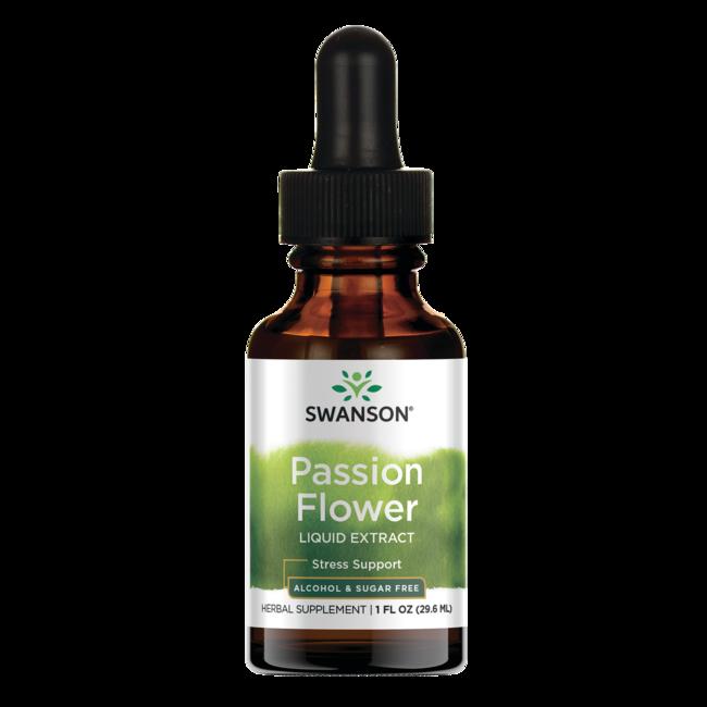 Swanson PremiumPassion Flower Liquid Extract (Alcohol and Sugar-Free)